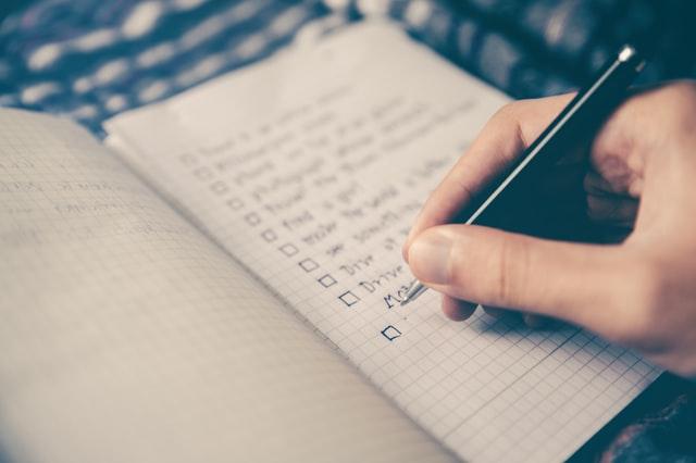 Selbstmanagement To-Do-Listen